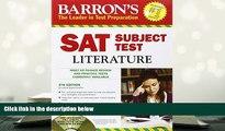 Popular Book  Barron s SAT Subject Test: Literature with CD-ROM, 5th Edition (Barron s SAT Subject