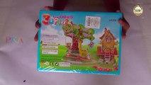 Super 3D Puzzles Rainbow House (DIY Toys Puzzle For Kids) - JK Arts 573