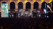 2CELLOS - LIVE at Arena Pula 2013 - 14 - Technical Difficulties (Paul Gilbert / Racer X)