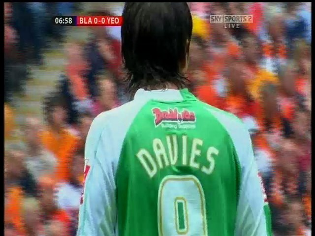 Yeovil Town v Blackpool League One Play-off Final