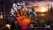 3d Robot Finger Family Nursery Rhymes | Robo finger family Song