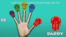 Dedo De La Familia | Gomosa Dinosaurio Esqueleto Vs Gomosos Del Esqueleto De La Familia Rimas Infantiles Y Más