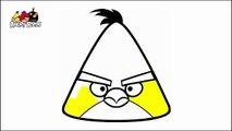 Angry birds. Para colorear-dibujos animados! | Angry birds. Coloring book-cartoon!