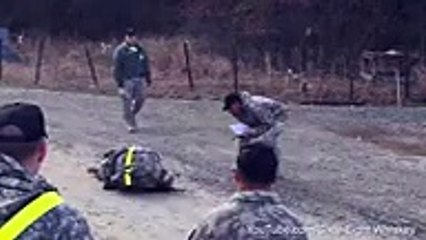 Strange Incident in Army Training by American Army