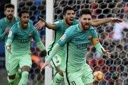 """ملخص مباراة """" أتلتيكو مدريد 1 - 2 برشلونة """" الدوري الإسباني"""