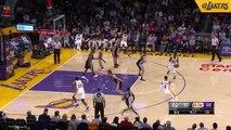 Los Angeles Lakers  Brandon Ingram rises for a monster onehanded slam LakeShow  SpectrumSN amp spectdeportes