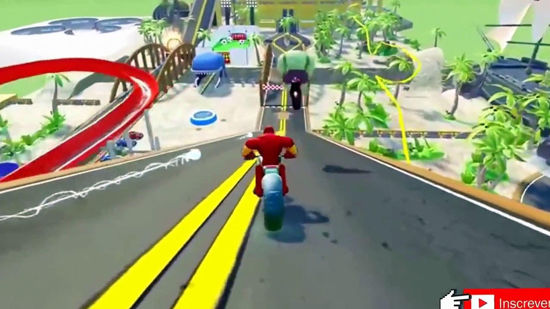 Jogo do Homem Aranha & Groot jogar com carros engraçados de DCTV