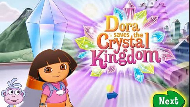 Dora Saves the Crystal Kingdom Full Episode Game - Perfect Dora Game For Kids!