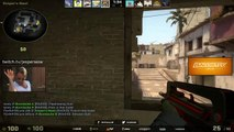 CS:GO - S1MPLE NEW CROSSHAIR WTF - video dailymotion