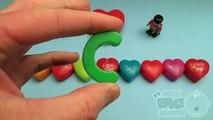 Kinder Sorpresa   Coches De Disney Huevo Sorpresa De Aprender Una Palabra! Ortografía de san Valentín Palabras! Lesso