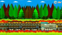 TRAINS FOR CHILDREN CARTOONS - Train and Cars Adventures - Cars & Trains Cartoons for children