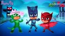 #Pj Masks #Peppa Pig #Catboy #Owlette #Gekko #Daddy Pig #Mother Pig #Funny Video For Toddler