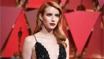 Oscars 2017: Emma Roberts Debuts Fiery Red Hair