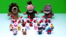 Finger Family Song - Mega Finger Family Collection! Finger puppet animals, Nursery Rhymes & More!