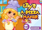 Lily Is A Pizza Maker Games-Cooking Games-Girl Games