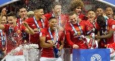 Manchester United, İngiltere Lig Kupası'nı Kazandı