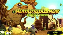 Ben 10 Alien Force: Humungousaur Giant Force - Wrecking Machine (Cartoon Network Games)