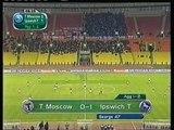 27.09.2001 - 2001-2002 UEFA Cup 1st Round 2nd Leg FC Torpedo Moskova 1-2 Ipswich Town FC