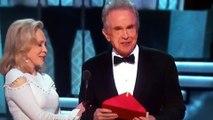 La bourde de Warren Beatty et Faye Dunaway aux Oscars 2017