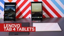 Lenovo Tab 4 tablets want to play with your kids