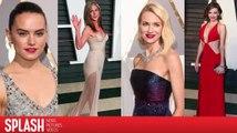 Un vistazo a los mejores vestidos de los Academy Awards