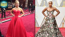 Oscars 2017 - Worst Dressed Celebs On Red Carpet | Hollywood Buzz