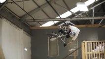 Ce rider vole dans un skatepark en BMX !