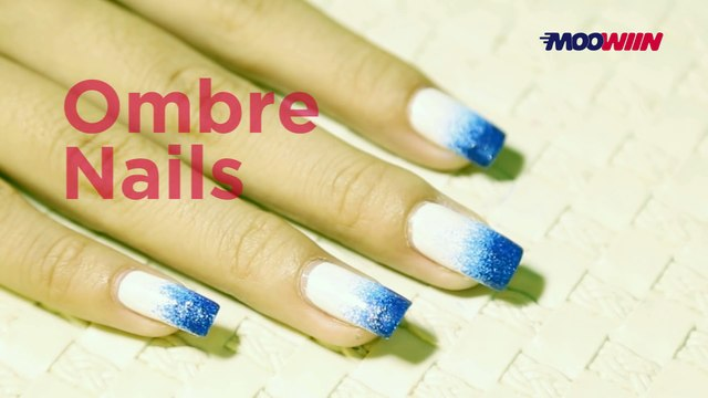 DIY - How To Make Ombre Nail Art?