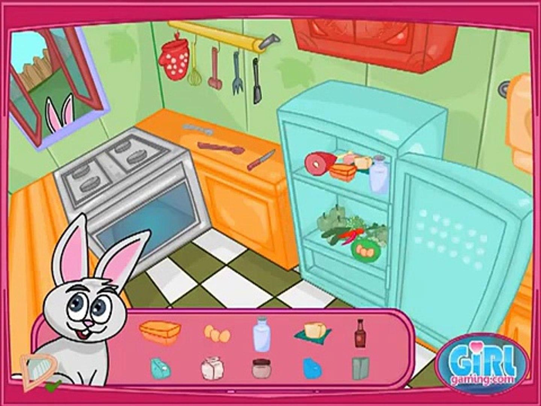 Вкусные Игры-Приготовление Кролика Торт Игры, Волосы Игры