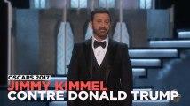 Oscars 2017 : Jimmy Kimmel fustige Donald Trump