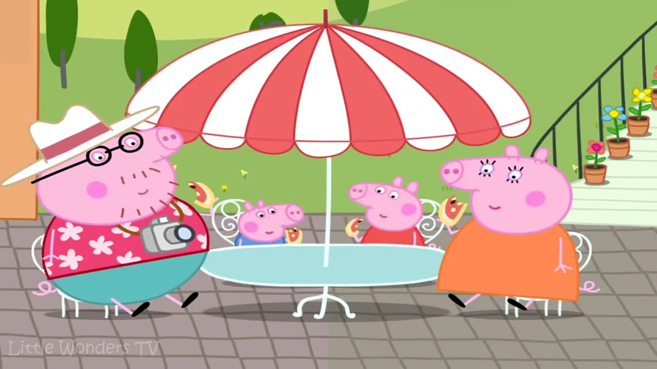 ☀ Peppa Pig Lets Make Pizza ☀ Peppa Pig Making Pizza ☀ Peppa Pigs Holiday App Demo For Kids