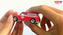 Austin Van Vs Hino Truck   Tomica & Hot Wheels Toys Cars For Children   Kids Videos HD Collection
