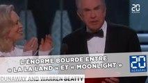 Oscars 2017: Gros cafouillage, «La La Land» annoncé par erreur, «Moonlight» sacré