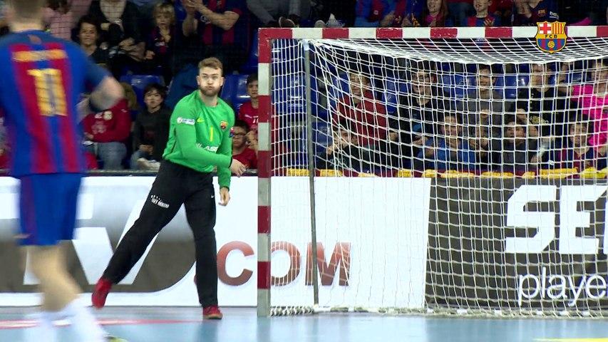 [HIGHLIGHTS] HANDBOL (Champions League): FC Barcelona Lassa – Flensburg (26-23)