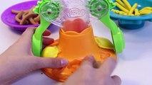 Играть Фабрика Дон спагетти, как сделать пластилин паста машина разработанная спагетти Игровой набор Хасбро игрушки