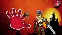 Paw Patrol Skeleton Halloween Finger Family Songs / Daddy Finger Family Nursery Rhymes Lyrics