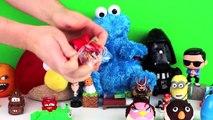 Opening Angry Birds Play-Doh Mace Windu Bird, Count Dooku Pig and Princess Amidala Bird Surprises!