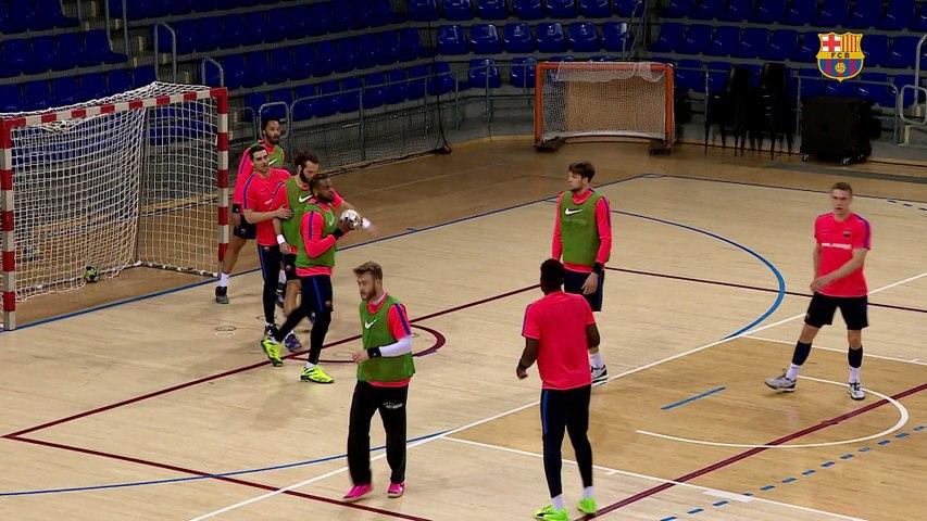 FCB Handbol: Declaraciones de Xavi Pascual previas al Benidorm