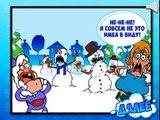 El tío Abuelo de juego para los niños. El Tío Abuelo Снегодяи. Uncle Grandpa game for kids.