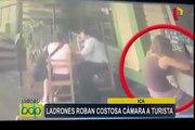 Ica: roban costosa cámara a turista en restaurante