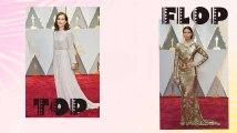 Oscars 2017 : Les tops et les flops du tapis rouge