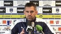 Point Presse Jocelyn Gourvennec avant Bordeaux - Lorient