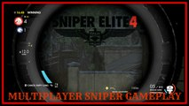 sniper elite 4 multiplayer gameplay with no aim assist show me how to snipe