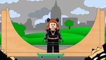 Batman Lego, Joker, Riddler, Catwomen | Skateboard | Batman Surprise Eggs #Animation Kids