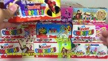 Unboxing Kinder Surprise Киндер Сюрпризы My little pony,Disney Princess,Фиксики,Маша и Медведь