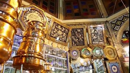 Irán - Los bazares tradicionales y modernos en Irán