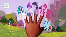 Finger Family My Little Pony | MLP Cartoon Animation Nursery Rhymes & Songs For Children