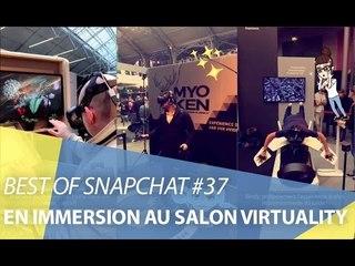 Best-of Snapchat #37 : En immersion au salon Virtuality
