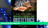 Free PDF AWHONN High-Risk   Critical Care Obstetrics (Mandeville, AWHONN s High Risk and Critical