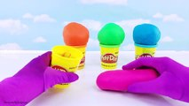 How to Make Playdoh Tubs DIY Fun Crafts for Kids Learn Colors Toy Surprises